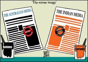 Simply put : Media mirror image
