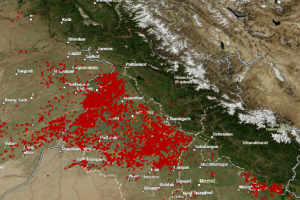 पंजाब-हरियाणा : जारी है फसल अवशेषों का जलाना, किसान खुद बन रहा वायु प्रदूषण का शिकार