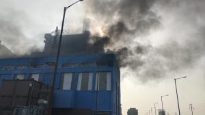 Blast in Anpara D power station