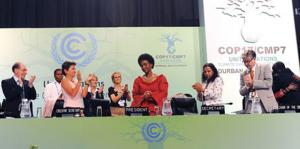 The final outcome of the Durban Conference on Climate Change