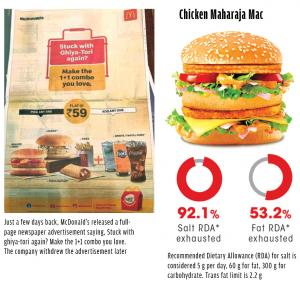Junk food monster: When McDonald's had to go back on its ad