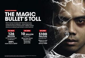 Antibiotic resistance: The magic bullet's toll