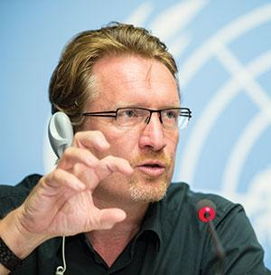CHRISTIAN LINDMEIER is spokesperson of the World Health Organization