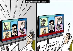 Coronavirus: brighter side of a disease