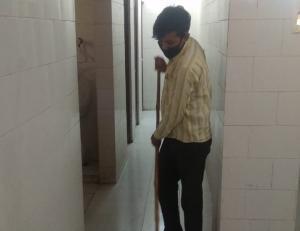 कोरोना संक्रमण के खिलाफ संघर्ष करते गुमनाम सिपाही