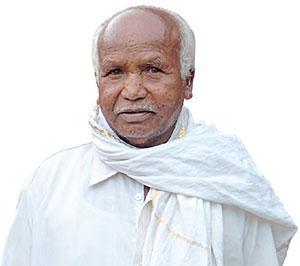 An old man and his baton: Meet Damodar Kashyap