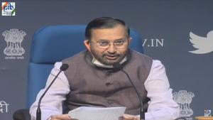 Coronavirus update: Javadekar, Tomar, Gadkari brief on Cabinet decisions