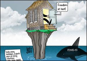 Simply Put: Freedom from lockdown