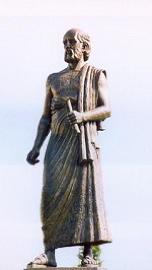 Aristarchus of Samos. Photo: Wikipedia