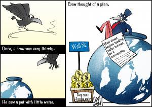 Simply Put: Water trading. Cartoon: Sorit Gupto