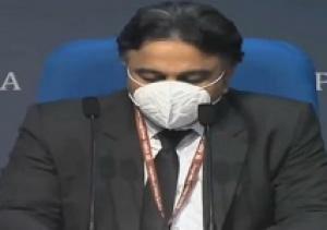 VG Somani at the National Media Centre in New Delhi January 3, 2021