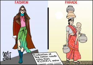 Simply Put: Fashion parade. Cartoon: Sorit Gupto