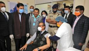 Wary healthcare workers in Assam inoculated with COVID-19 vaccines