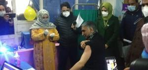 COVID-19 vaccination begins in Jammu, Kashmir and Ladakh