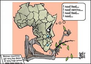 Simply Put: Dry your tears, Africa