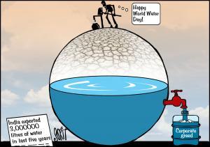 Simply Put: World Water Day. Cartoon: Sorit GUpto