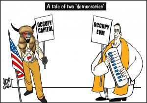 Simply Put: Two 'Democracies'