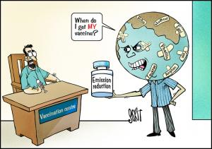 Simply Put: A vaccine for planet Earth