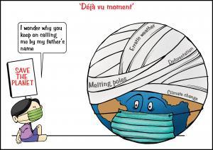 Environment Day 2021 cartoon: Sorit Gupto