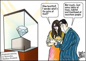 Diamonds cartoon: Sorit Gupto