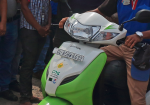 Gas-based two wheelers launched to curb air pollution