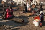 Extreme hunger in South Sudan pushes locals to gather food for survival