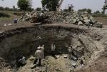 In some places, you have to dig 130 feet down to get groundwater; that's how bad it is