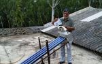A solar water purifier, with a difference