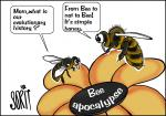 Simply put: Bee apocalypse