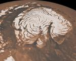 Scientists uncover sheets of ice buried at Mars' north pole