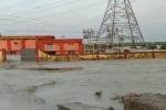 एनटीपीसी के ऐश बांध टूटने से आधा दर्जन गांवों में हड़कंप, तीन लोग बहे