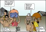 Simply put: Development, non-development & displacement