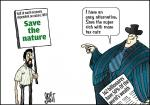 Simply Put :Save the nature