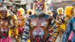 When exactly did the tiger colonise the Indian subcontinent?
