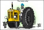 Simply Put: The farmer's tractor