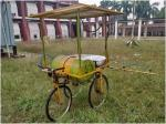 IIT-K scientists design mobile pesticide sprayer that runs on solar energy