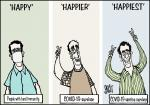 Simply Put: The COVID-19 happiness index