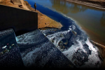 Bleeding blue: Fast fashion is now poisoning African rivers