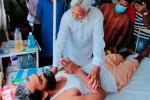 ओडिशा में नदी का रुख बदलने का विरोध कर रहे लोगों को सख्ती कर हटाया, अस्पताल में भर्ती