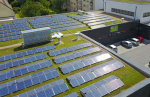 Planning to install rooftop solar panels? How about some grass beneath it