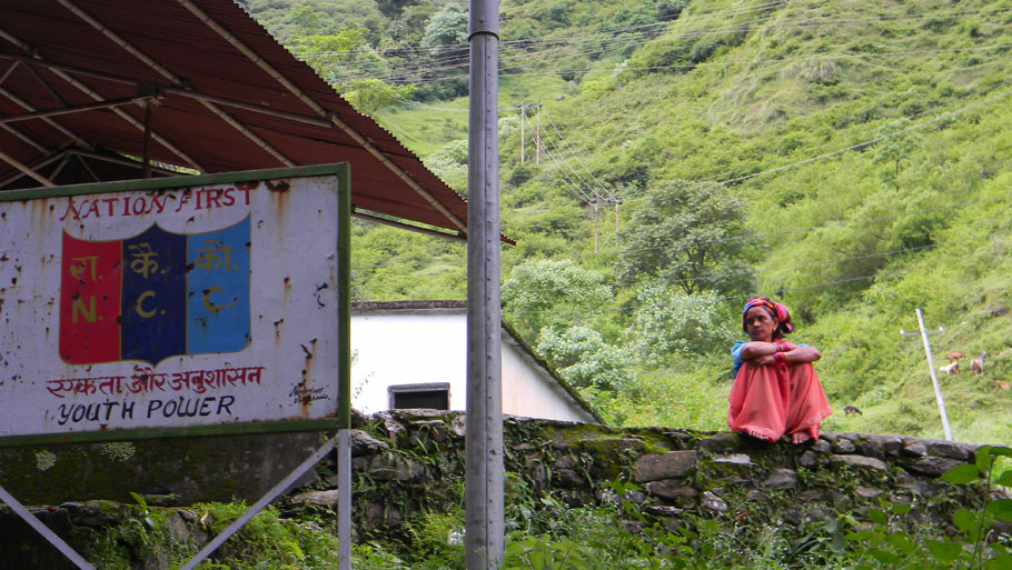 Distribution of daily supplies  Photographs by: Soma Basu Read more: Uttarakhand floods: is the disaster human-induced?
