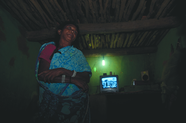 Flicker of solar light in Chhattisgarh
