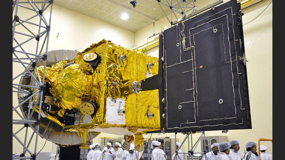 Security check at Satish Dhawan Space Centre at Sriharikota  Photograph by Vibha Varshney  Read more: Mars Orbiter Mission