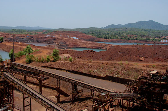 Codli mine of Sesa Goa with 7 million tonnes per annum capacityPhotographs by Sugandh Juneja