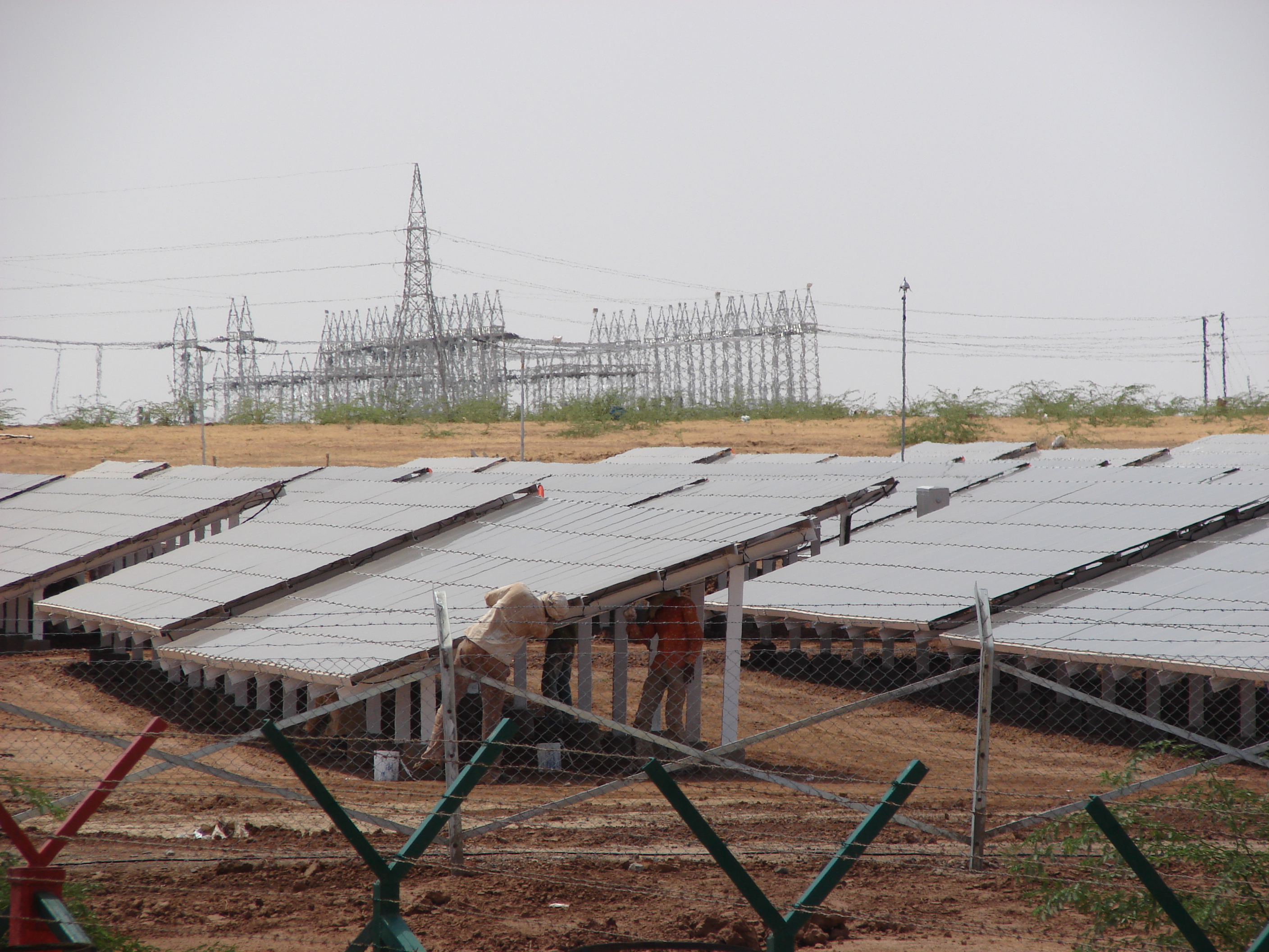 India's total solar energy generation capacity stands at more than 5,000 MW