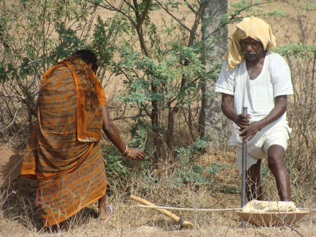 Farmers in Hyderabad district, Telangana Credit:Flickr
