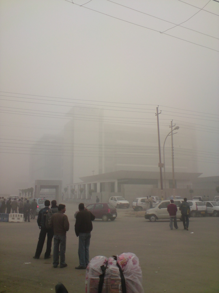 Smog in Noida near New Delhi Credit: Ashok Prabhakaran, Flickr