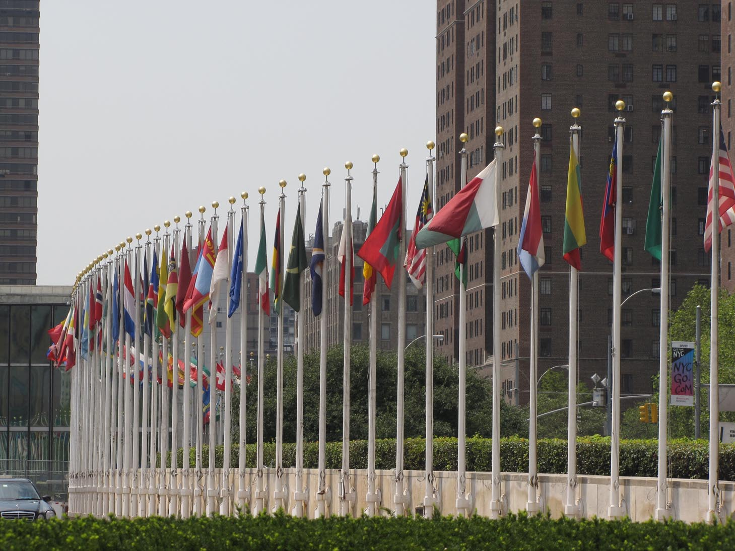United Nations, Manhattan      Credit: Christopher John/Flickr