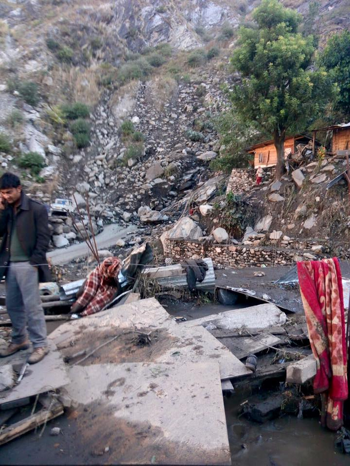 Three feared dead as dam bursts in Himachal Pradesh
