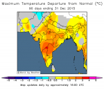 India is experiencing a warmer winter